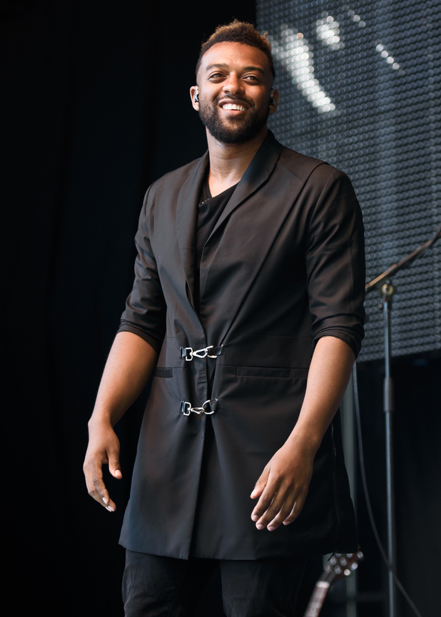 Oritsé Williams attends Day 2 of the New Look Wireless Festival at Finsbury Park on July 4, 2015 in London, England.