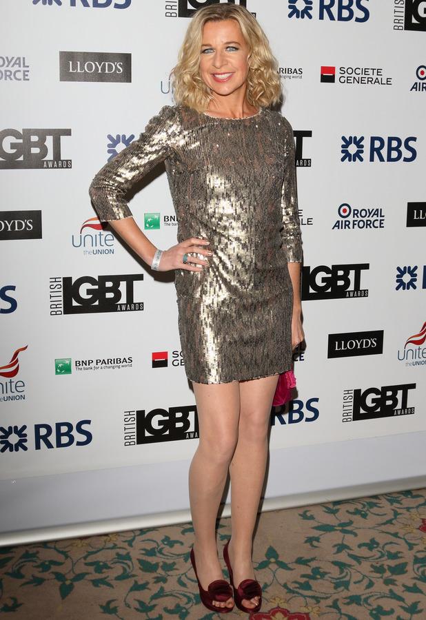 Katie Hopkins at the British LGBT Awards at the Landmark Hotel - 04/24/2015.