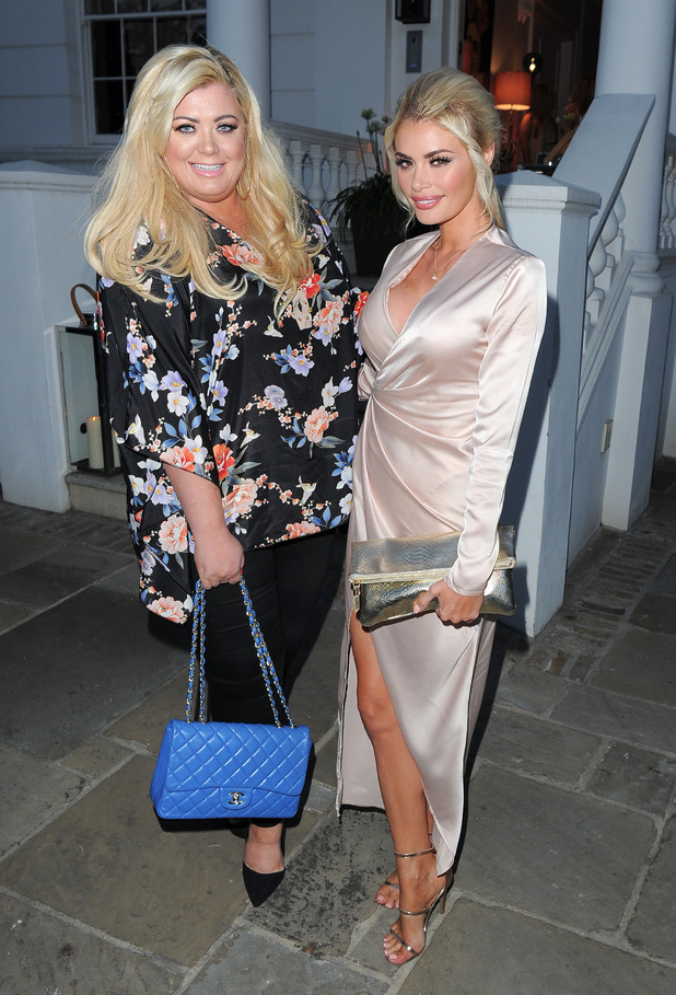Gemma Collins and Chloe Sims attending the ITV summer party in Notting Hill on July 9, 2015 in London, England.