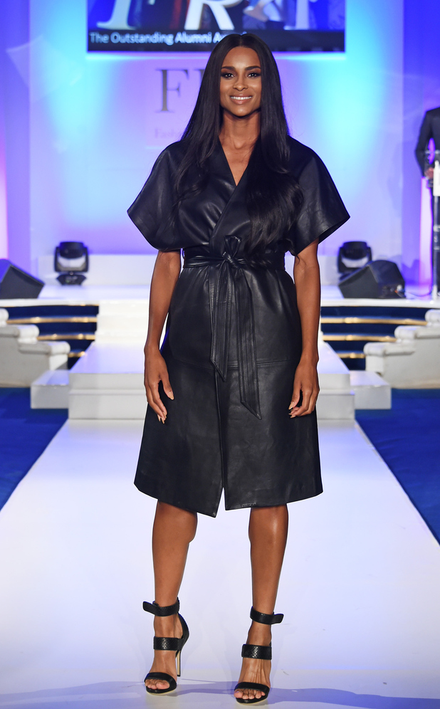 Ciara attends the Fashion Retail Academy 10th Anniversary Awards at Freemasons' Hall on July 8, 2015 in London, England.