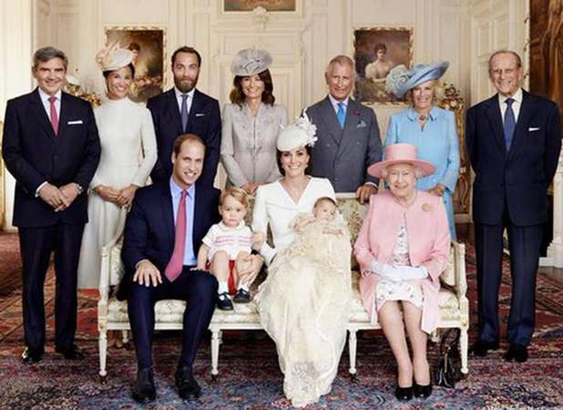 Princess Charlotte's Christening, 5 July 2015