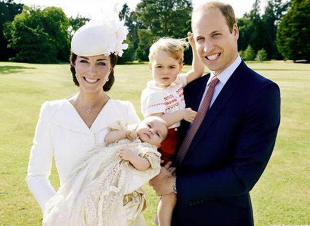 Princess Charlotte's Christening, 5 July 2015