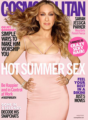 Sarah-Jessica Parker for Cosmopolitan US