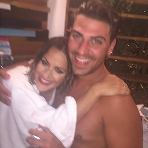 Caroline Flack and Jonathan Clark, Love Island final 15 July