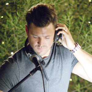 Mark Wright pays a visit to Love Island to guest DJ at Lauren's birthday party - 14 July 2015.