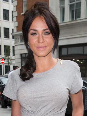 Vicky Pattison outside Radio 1, London 14 July