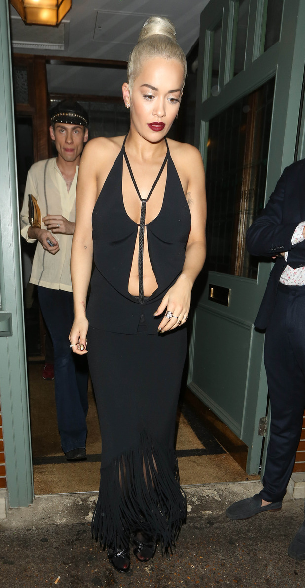 Rita Ora at The Sony Music Party in London, The Ivy, Chelsea, 15th July 2015