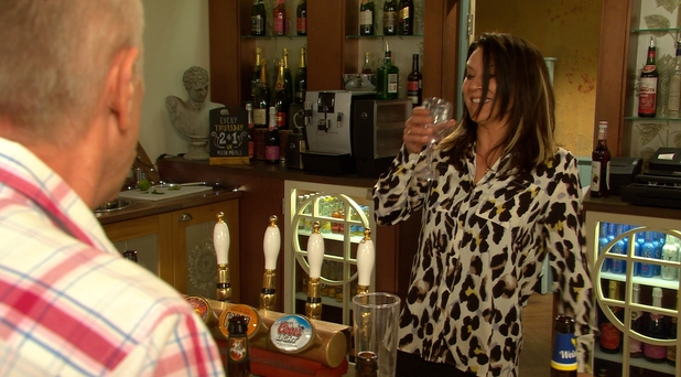 Hollyoaks, Reenie gets drunk, Fri 17 Jul