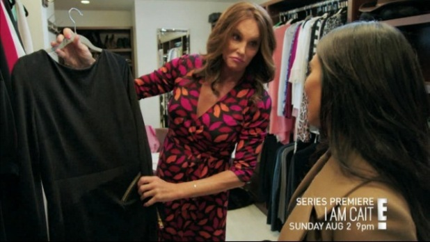 Screenshot from the new I Am Cait trailer, 15th July 2015