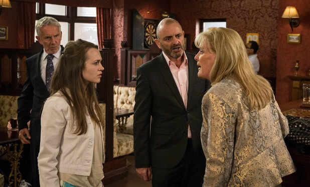 Corrie, Liz confronts Dan, Fri 17 Jul