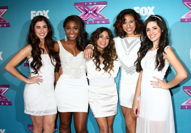Fifth Harmony on The 'X Factor' Season Finale performances show taping at CBS Television City - 19 December 2012.