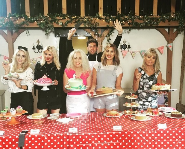 Ferne McCann and the TOWIE cast have an Essex Bakeoff, 14th July 2015