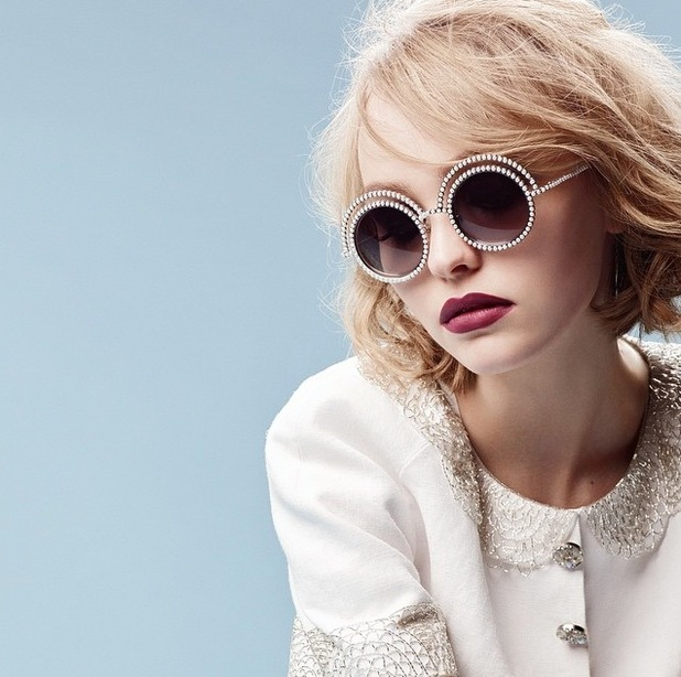 Lily-Rose Depp features in first ever Chanel campain 17th July 2015