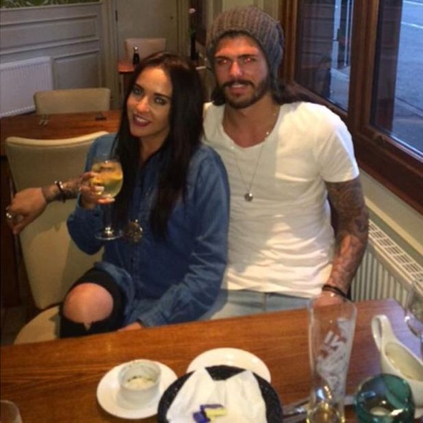 Stephanie Davis with boyfriend Sam Reece, July 2015