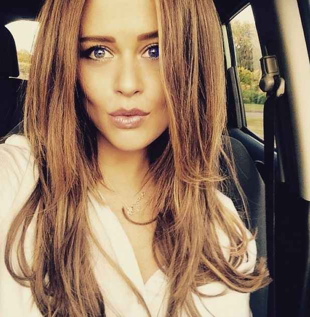 Emily Atack shows off new extensions 15 July