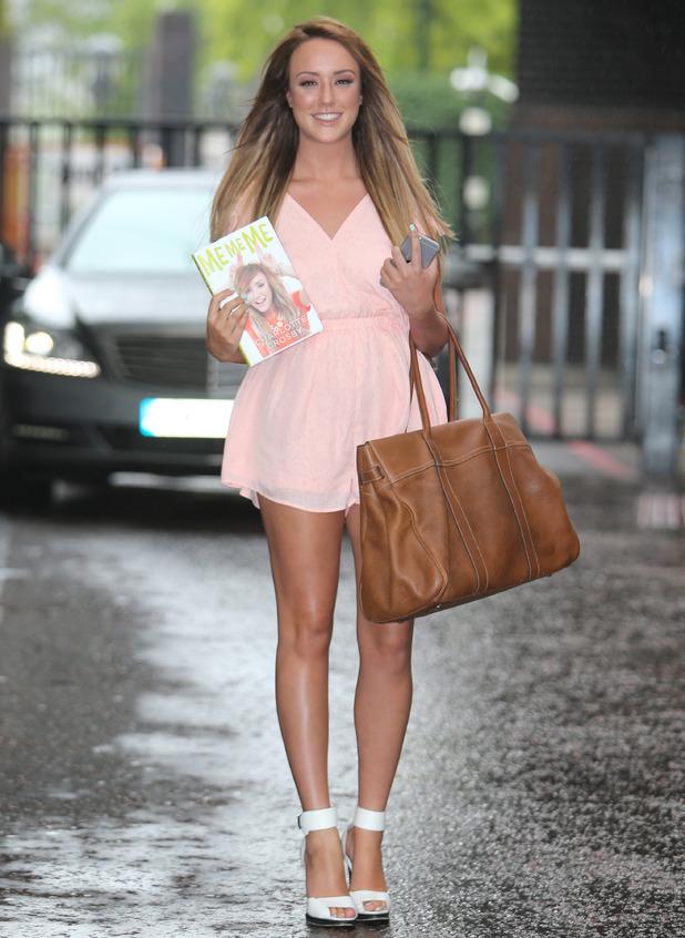 Charlotte Crosby appears on Lorraine, ITV studios, London 13 July