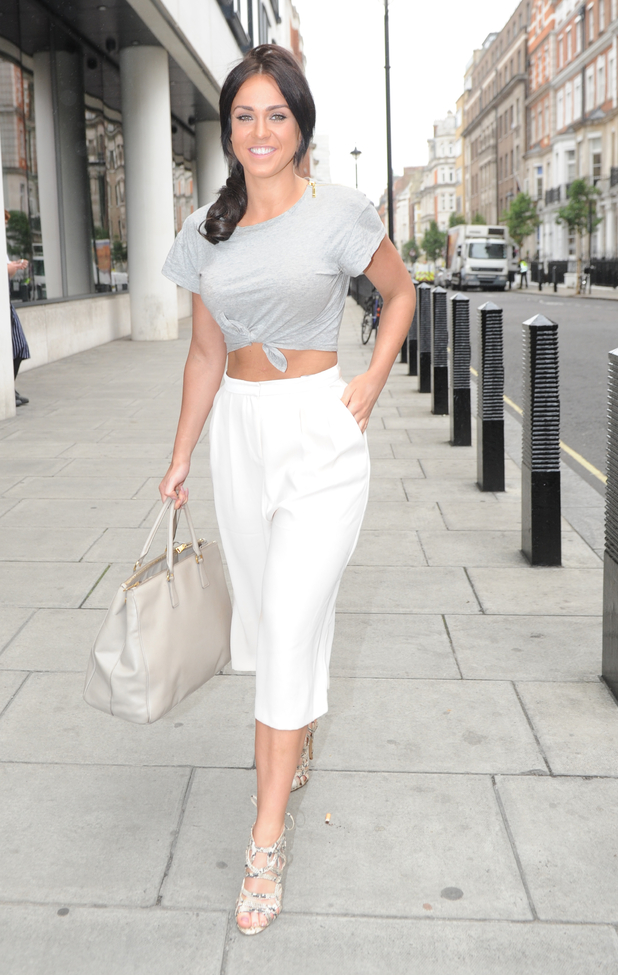Vicky Pattison at BBC Studios in London, 14th July 2015