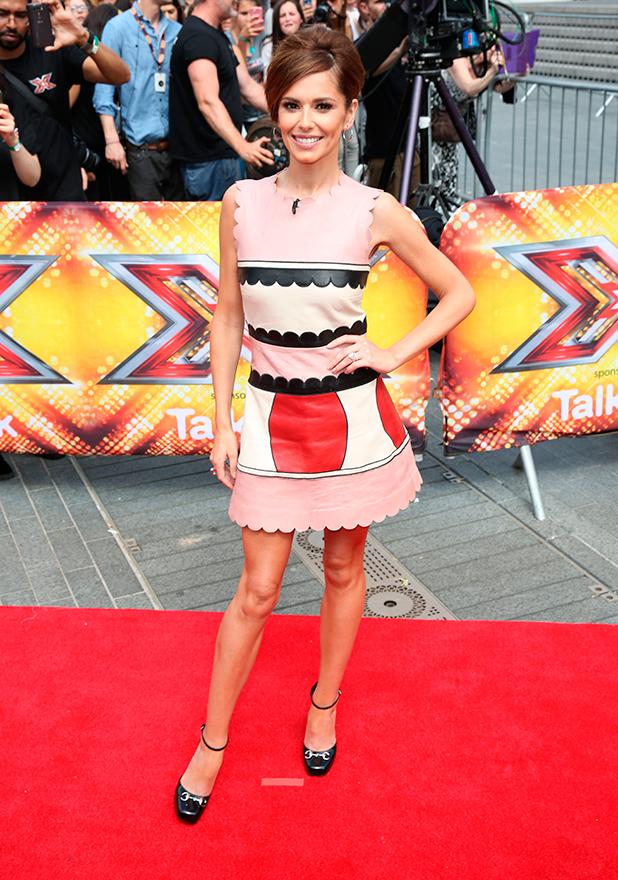 X Factor photocall at Wembley, 16 July 2015 Cheryl Fernandez-Versini
