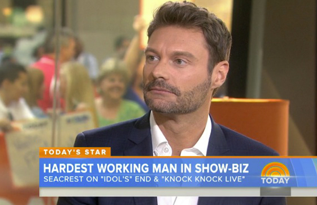 Ryan Seacrest on Today Show 2015