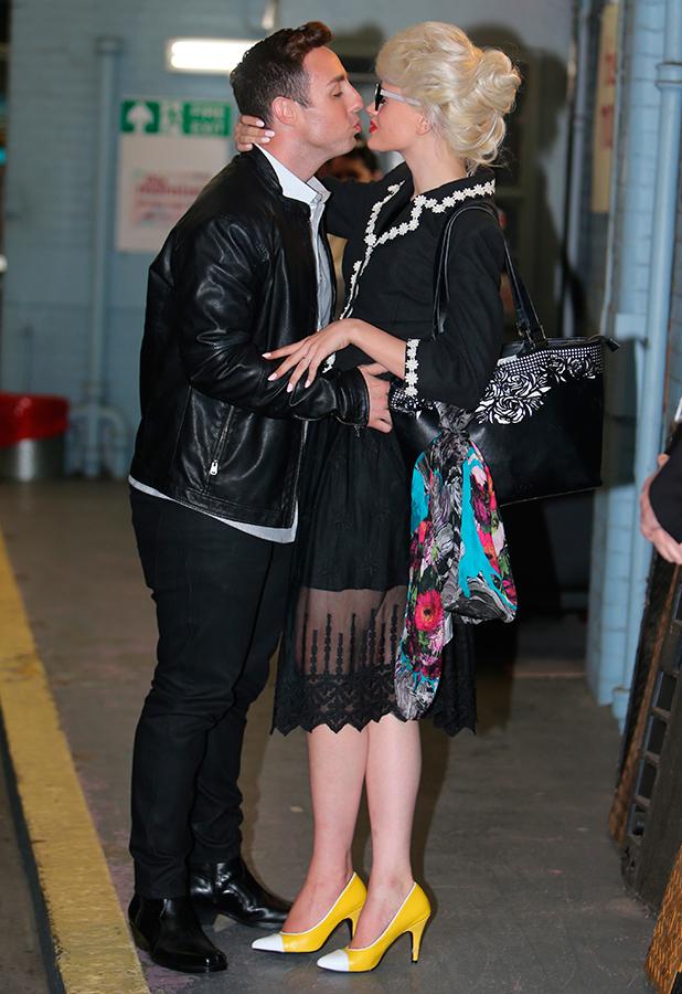 Stevi Richie and Chloe Jasmine outside ITV Studios 13 July 2015