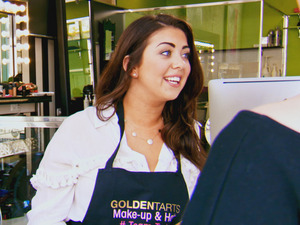Life On Marbs: Lauren Vyner and Amy Carter at Golden Tarts salon - 22 July 2015.