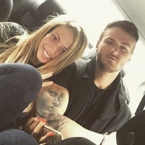 Holly Hagan and Kyle Christie, Instagram 20 July