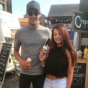 Max Morley and Jessica Hayes reunite in Gloucestershire 19 July