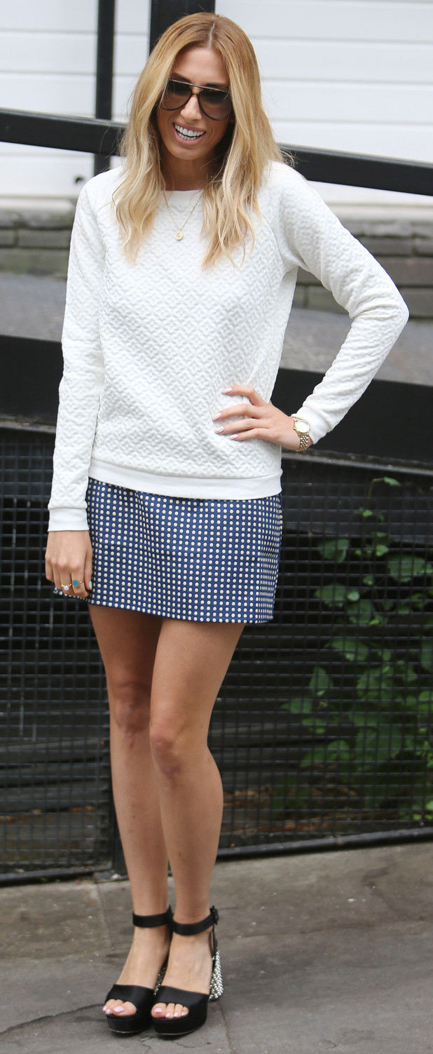 Stacey Solomon at ITV Studios in London 23rd July 2015
