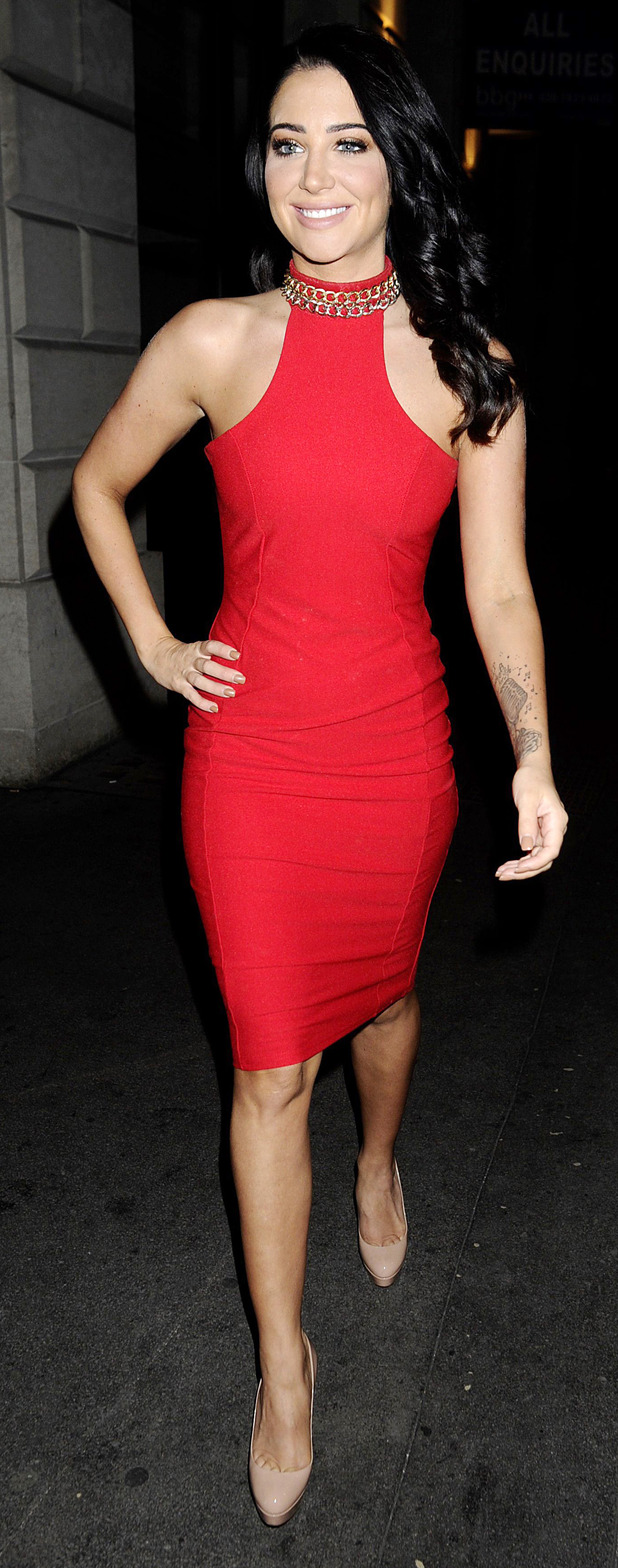 Tulisa at Little Mix Black Magic party in London 21st July 2015