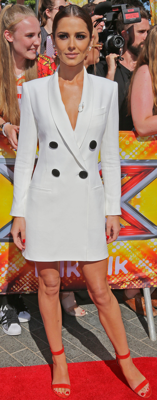 Cheryl Fernandez-Versini at the X Factor Auditions in London, 19th July 2015
