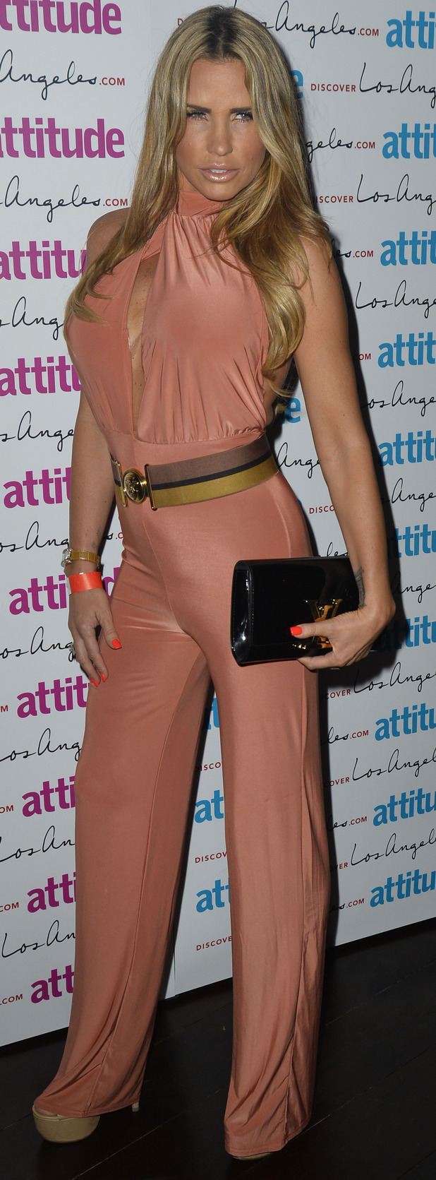Katie Price at Attitude Magazine's Hot 100 Summer Party in London, 21st July 2015