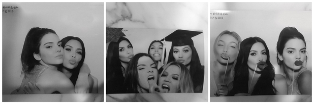 Kim Kardashian shares photos of Kylie and Kendall Jenner's graduation party, 24th July 2015