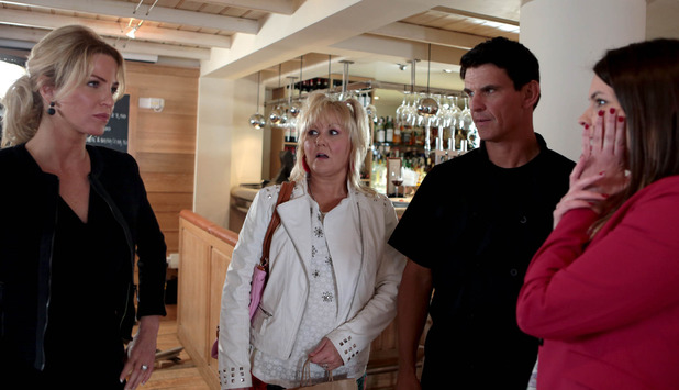 Corrie, Joni slaps Tracy, Fri 24 Jul
