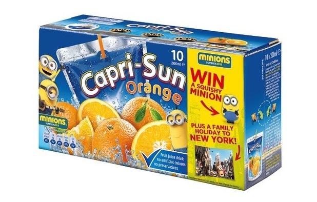 Capri Suns, Tesco