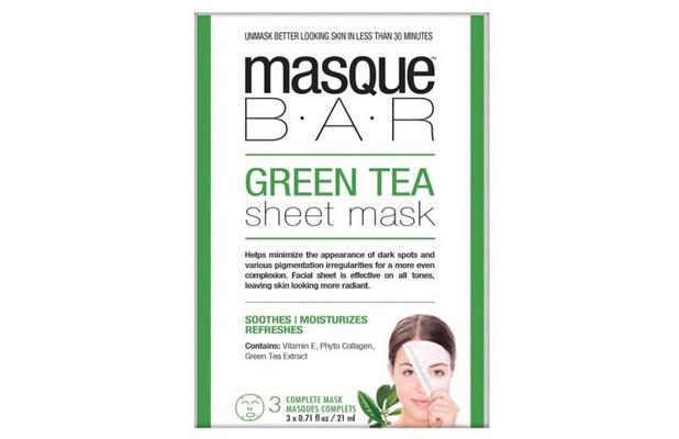 Masque Bar Green Tea Sheet Masks, £6.99 23rd July 2015