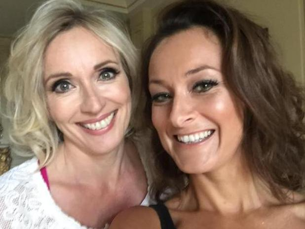 EastEnders actress Luisa Bradshaw-White has married her long-term partner Annette Yeo - May 2015.