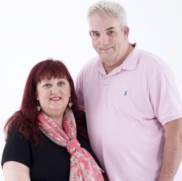 Kathy Proudfoot  and husband Ian
