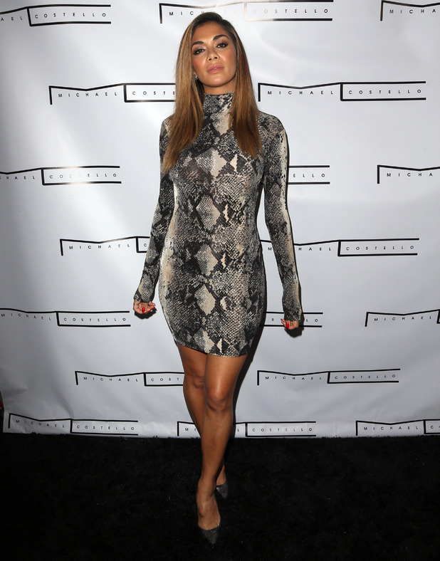 Nicole Scherzinger at Michael Costello's Pre – Fall Capsule Collection, 23rd July 2015