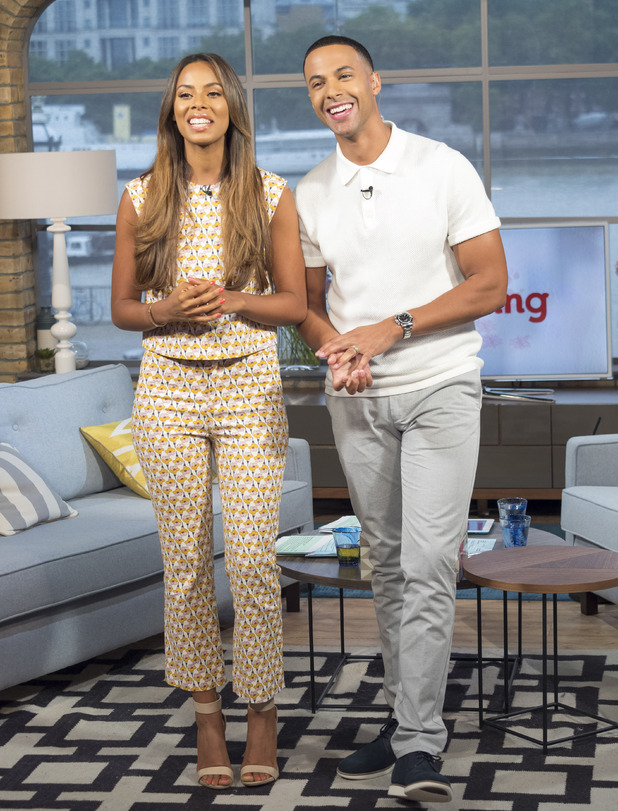 Rochelle Humes and Marvin Humes on This Morning - London, Britain - 24 Jul 2015.