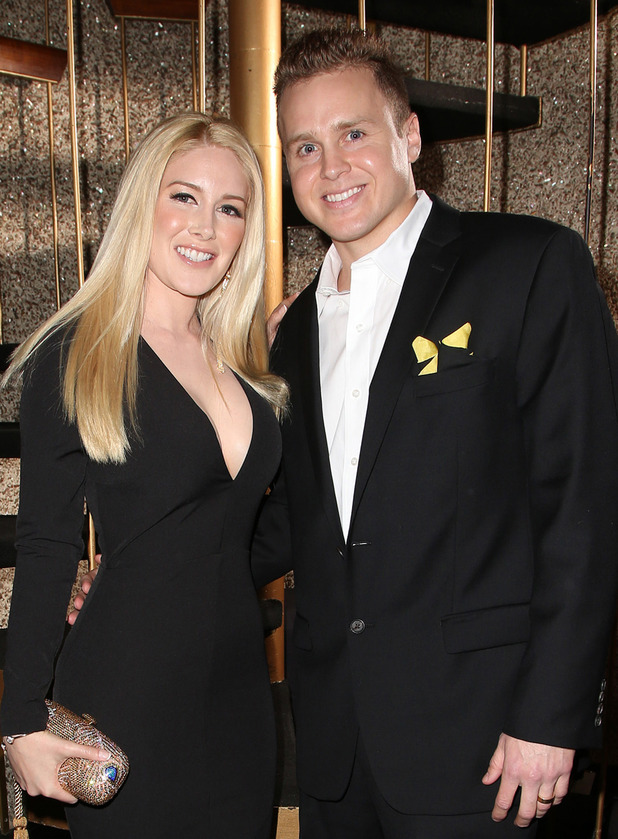 Heidi Montag and Spencer Pratt at the Reality TV Awards held at The Avalon Hollywood - Los Angeles - 13 May 2015.
