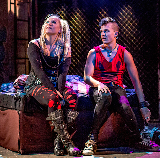 'American Idiot' Green Day musical at The Arts Theatre, London, Britain - 17 Jul 2015 Amelia Lily