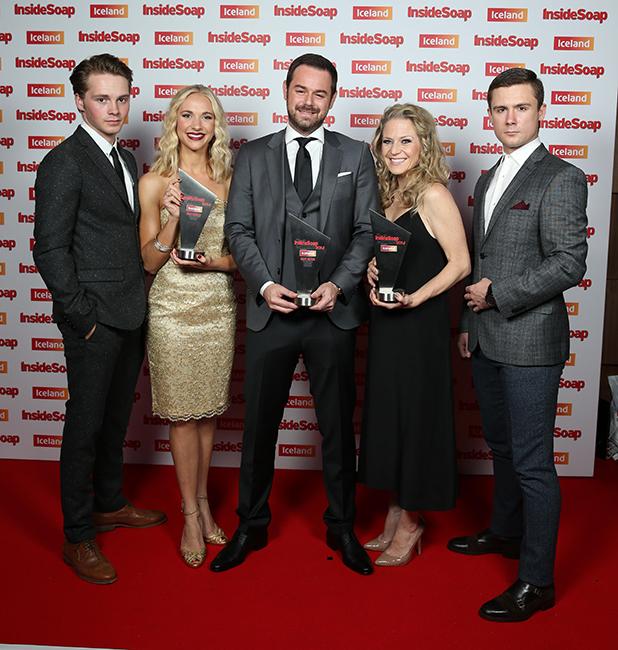 Inside Soap Awards - EastEnders winning in 2014
