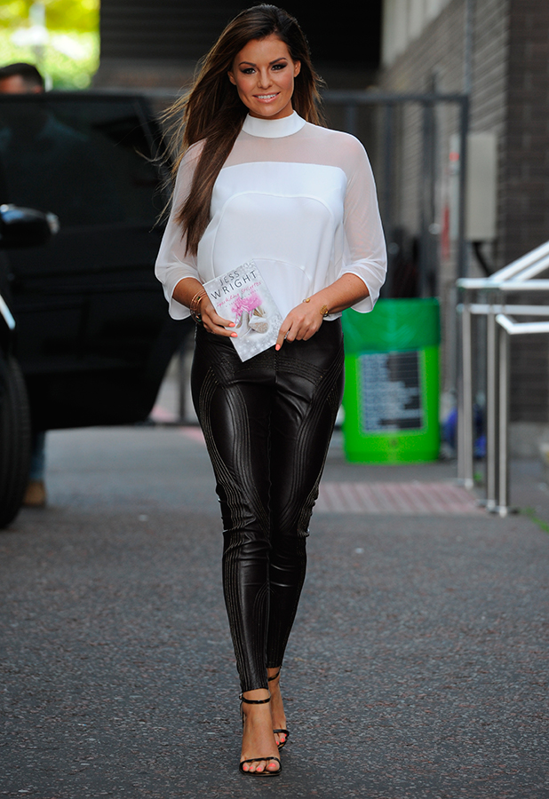 Jessica Wright seen leaving itv Studios in London, 21 July 2015