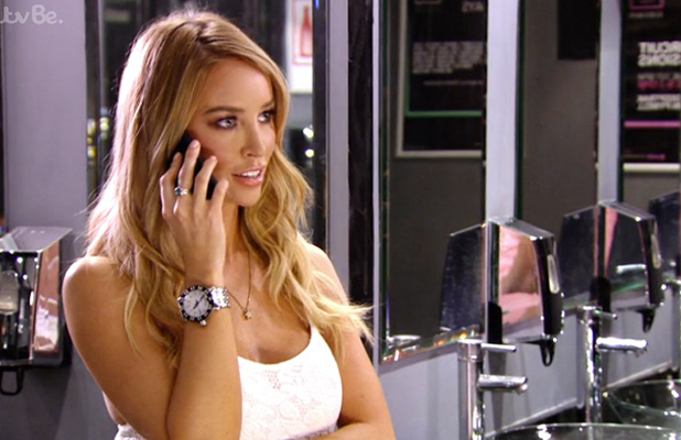 TOWIE episode 19 July 2015 Vas J Morgan and Lauren Pope talk on the phone