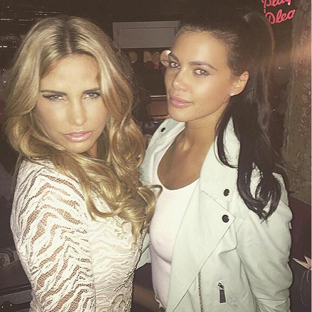 Verity Chapman and Katie Price 16 July 2015