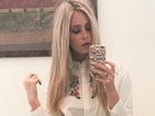 Get the look: Diana Vickers just rocked the cutest 70s style mini skirt!