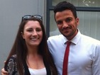 Peter Andre and new wife Emily make brave heart-op teen's dream come true