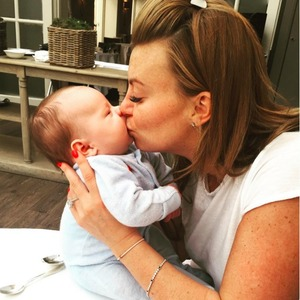 Billi Mucklow shares adorable snaps of baby son Arlo, 1 August 2015