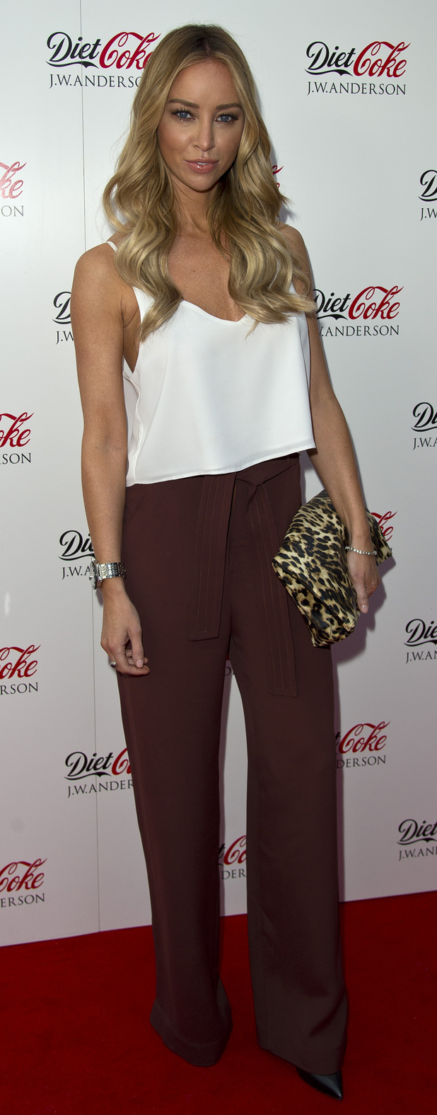 TOWIE's Lauren Pope at the Diet Coke x J.W Anderson Party in London, 31st July 2015