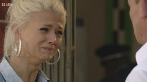 EastEnders: Danielle Harold bows out as Lola Pearce in emotional exit - 28 July 2015.
